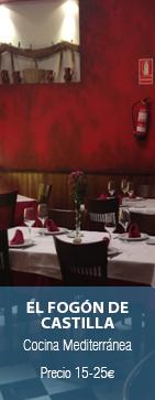 Restaurante El Fogón de Castilla Madrid
