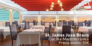 Restaurante St. James Juan Bravo Madrid