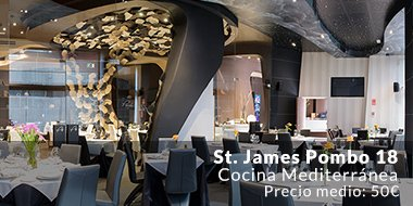 Restaurante St. James Pombo 18 Madrid